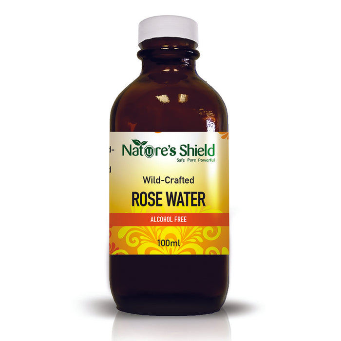 Nature's Shield Wild-Crafted Rose Water 100ml