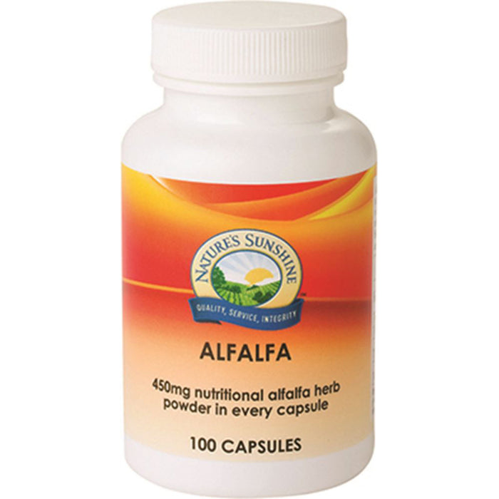Nature's Sunshine Alfalfa 450mg 100c