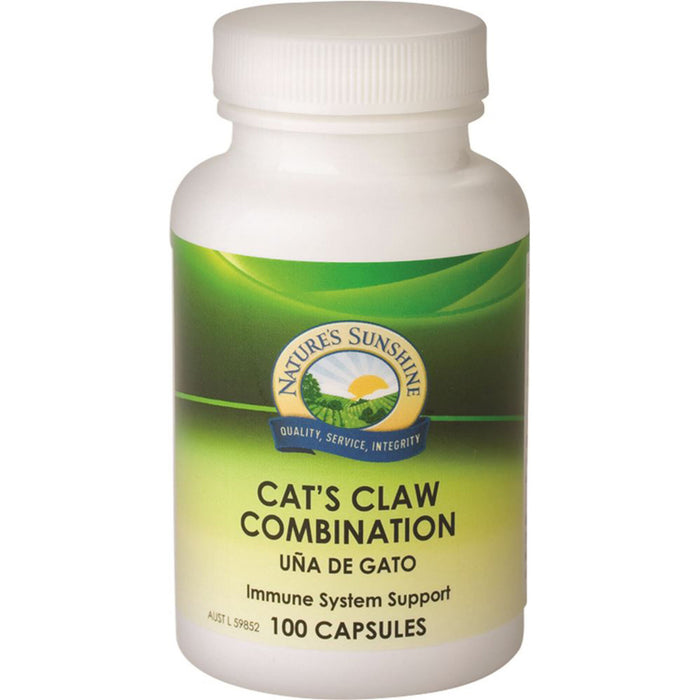Nature's Sunshine Cat's Claw Combination 100c