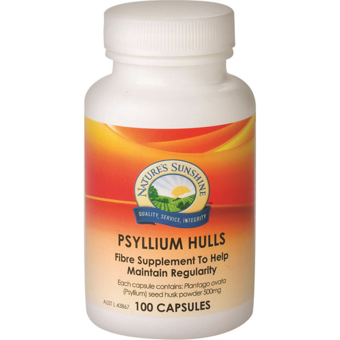 Nature's Sunshine Psyllium Hulls 500mg 100c