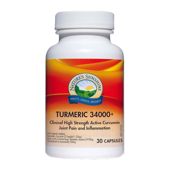 Nature's Sunshine Turmeric 34000+ 30c