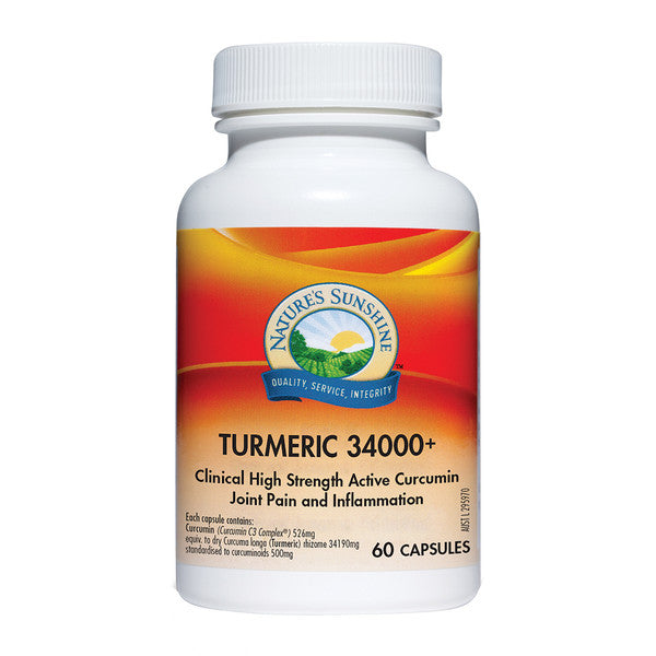 Nature's Sunshine Turmeric 34000+ 60c