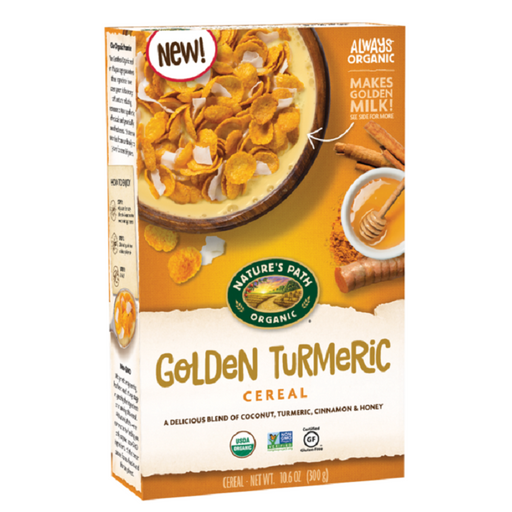 Nature`s Path Organic Golden Turmeric Cereal