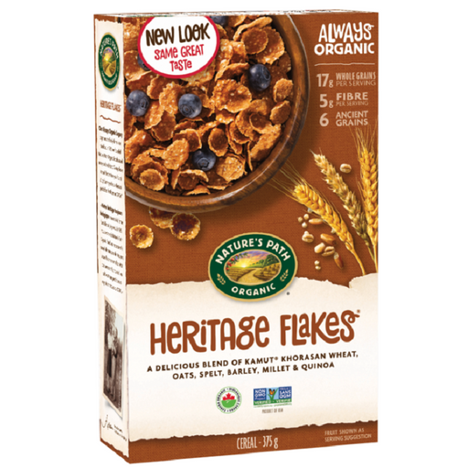 Nature`s Path Organic Heritage Flakes 375g