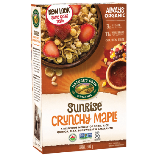 Nature`s Path Sunrise Crunchy Maple