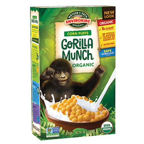 Nature's Path Envirokidz Organic Gorilla Munch Corn Puffs 275g