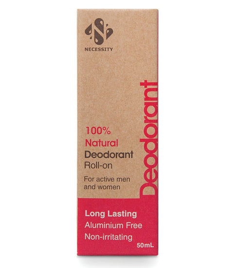 Necessity Natural Deodorant Roll-On