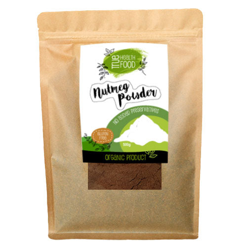 AOP Nutmeg Powder Ground Certified Organic 900g