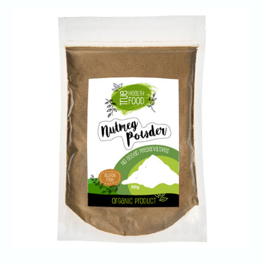 AOP Nutmeg Powder Ground Certified Organic 500g