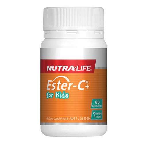 NutraLife Ester-C+ For Kids Chewable 60t