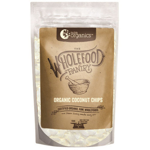 Nutra Organics Wholefood Pantry Organic Coconut Chips 150g