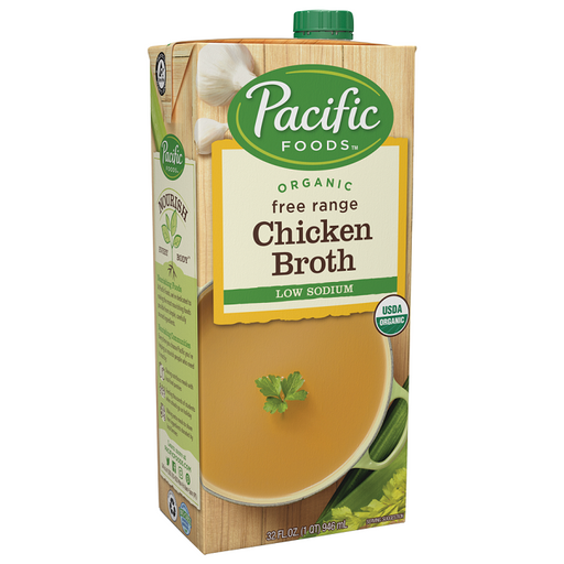 Pacific Foods Organic Low Sodium Chicken Stock