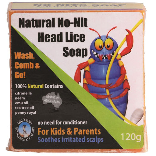 Only Emu Natural NoNit Head Lice Soap