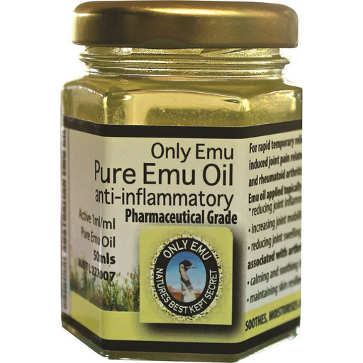 Only Emu Pure Emu Oil 50ml