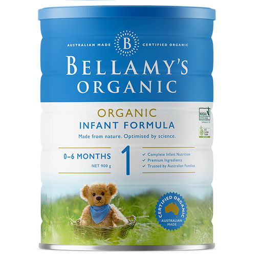 Bellamys Organic Step 1 Infant Formula