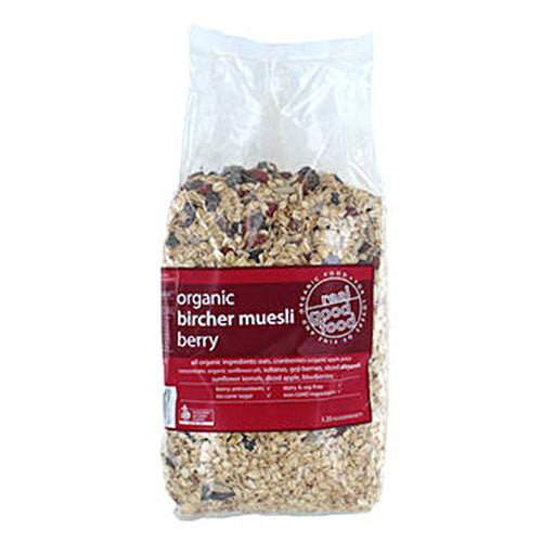 Real Good Food Organic Berry Bircher Muesli (Bag) 1.25kg