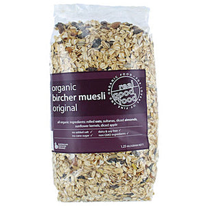 Real Good Food Organic Bircher Muesli (Bag) 1.25kg