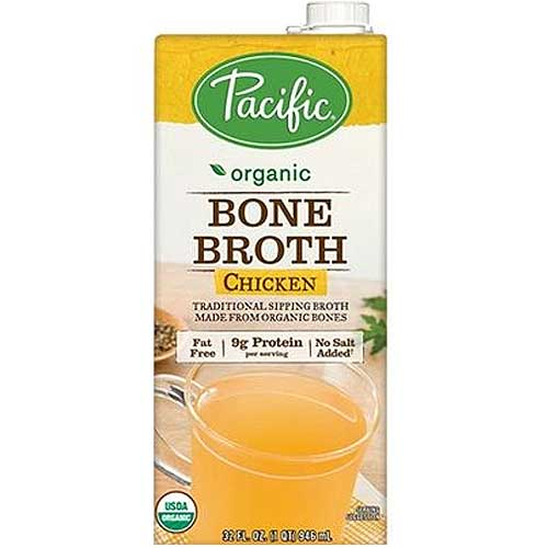 PACIFIC FOODS Organic Bone Broth Chicken 946ml