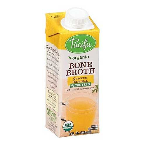 PACIFIC FOODS Organic Bone Broth Chicken Original 240ml