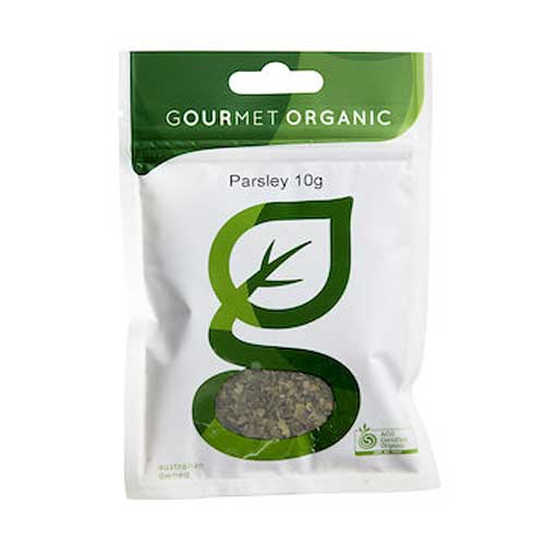 GOURMET ORGANIC Parsley Dried 10g