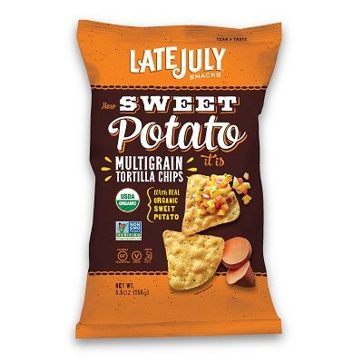 LATE JULY Organic Multigrain Chips How Sweet Potato 156g