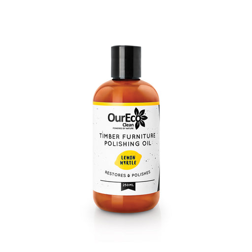 OurEco Clean Lemon Myrtle Timber Furniture Polishing Oil