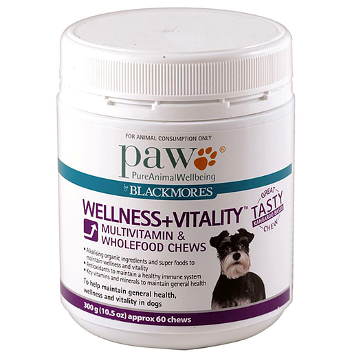 PAW Blackmores Wellness + Vitality (Multivitamin Chews 300g