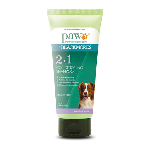 PAW By Blackmores Conditioning Shampoo 2in1 (Lavender & Jojoba) 200ml