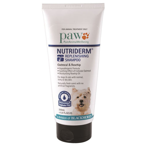 PAW By Blackmores NutriDerm Replenishing Shampoo (Oatmeal & Ceramides) 200ml