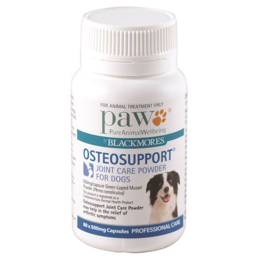 PAW By Blackmores OsteoSupport (Joint Care For Dogs) 80c