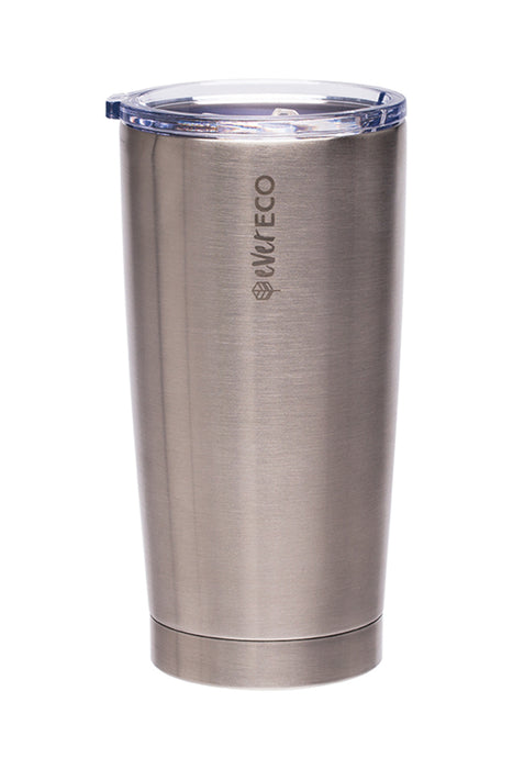 EVER ECO Insulated Tumbler - Brushed Steel