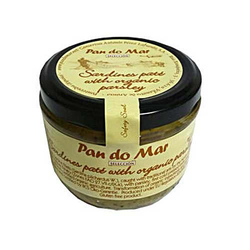 PAN DO MAR Sardine Pate with Organic Parsley 125g