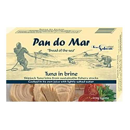 PAN DO MAR Tuna in Brine 120g Gluten Free
