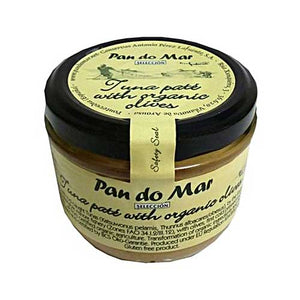 PAN DO MAR Tuna Pate with Organic Olives Gluten Free 125g