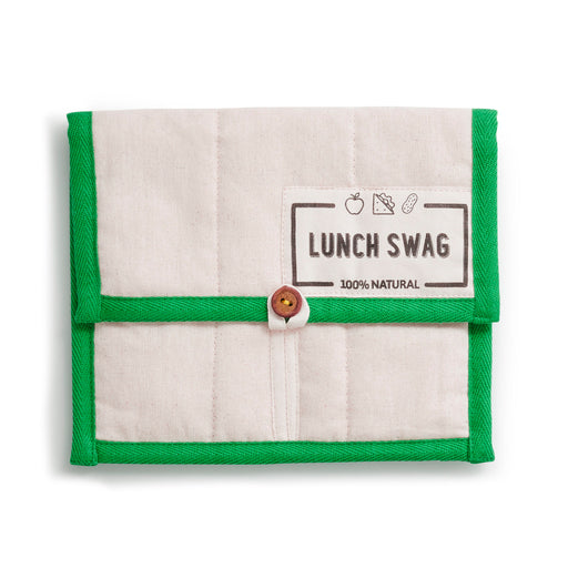 The Swag Lunch Green Trim