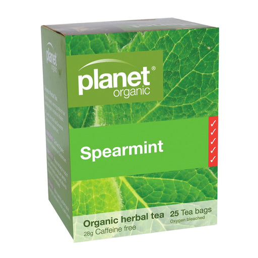 PLANET ORGANIC Herbal Tea Bags Spearmint - 25 Bags