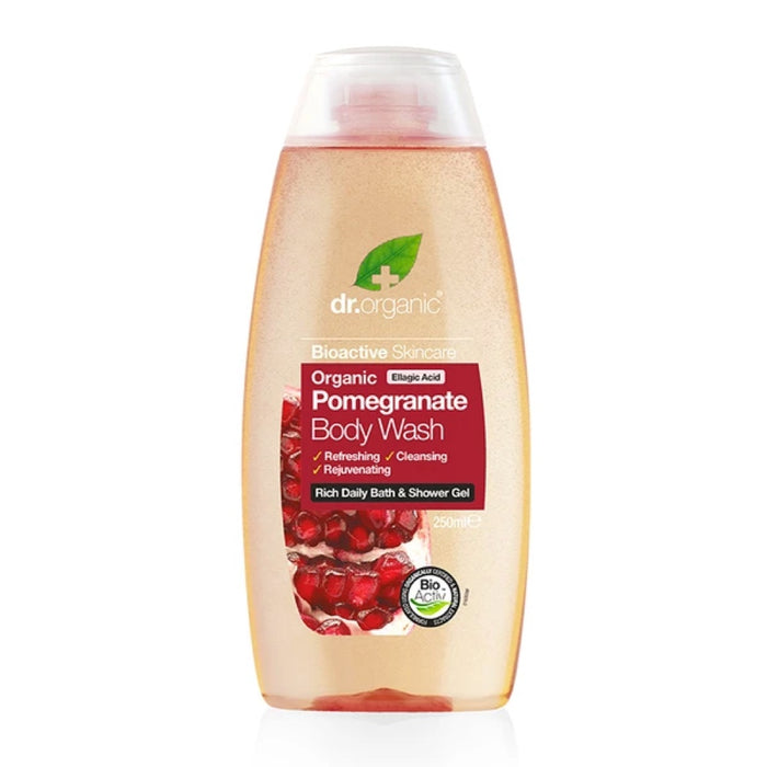 DR ORGANIC Pomegranate Organic Body Wash 250ml