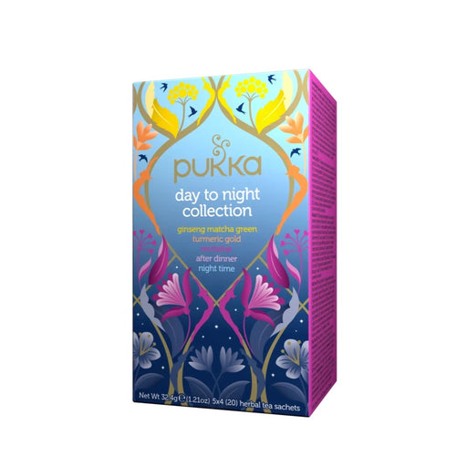 Pukka Day to Night Collection (5 Flavours) x 20 Tea Bags