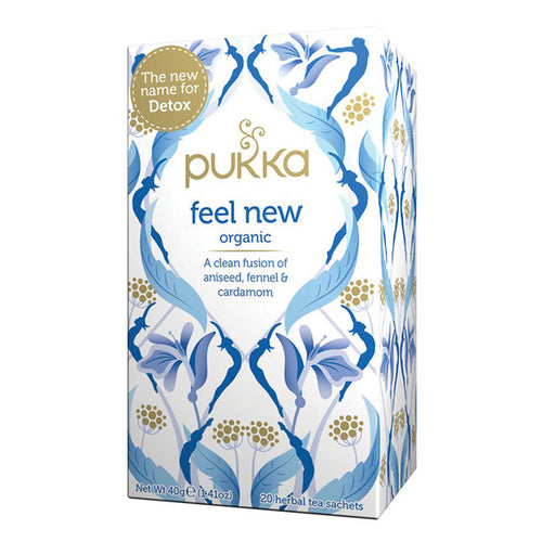 Pukka Feel New x 20 Tea Bags