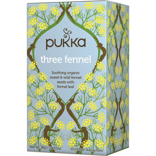 Pukka Three Fennel x 20 Tea Bags