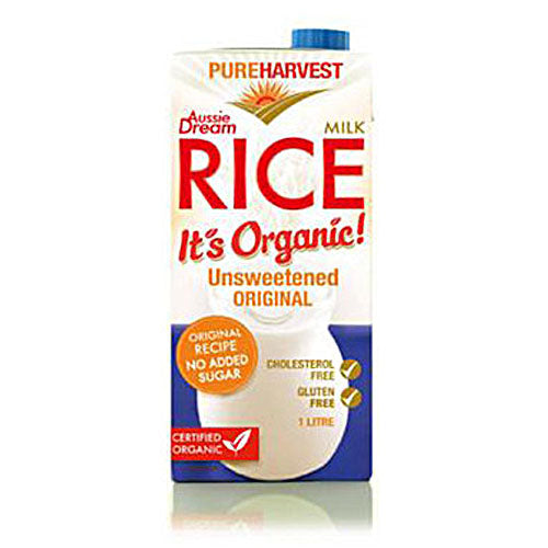 Pure Harvest Organic Rice Milk Aussie Dream 1L