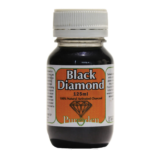 Pure Eden Activated Charcoal Black Diamond 125ml