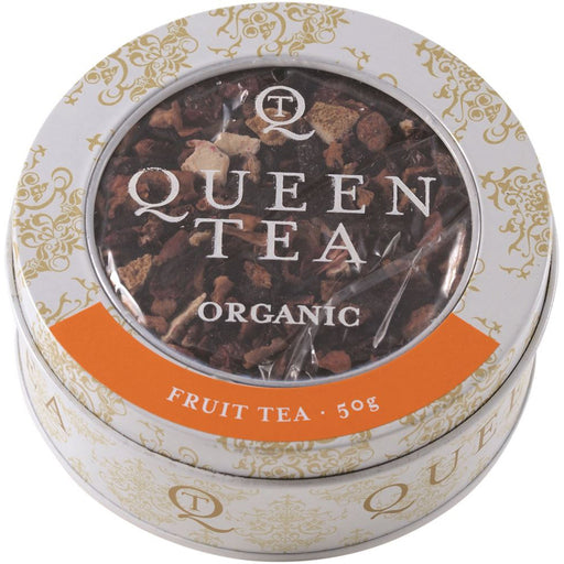 Queen Tea Organic Fruit Tea Tin 50g