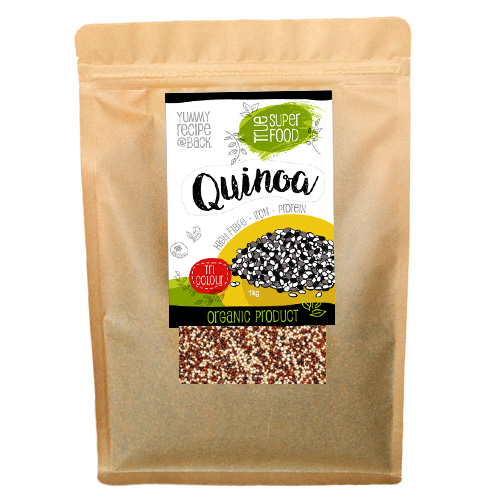 AOP Organic Quinoa Tri-Colour Seeds (Various Sizes)
