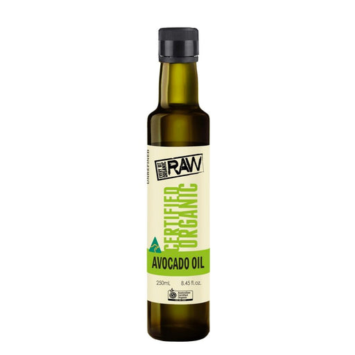 EVERY BIT ORGANIC RAW Avocado Oil Cold Pressed Extra Virgin 250ml