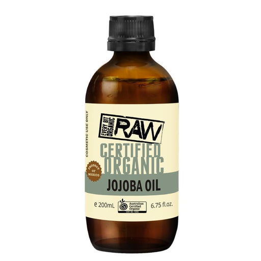 EVERY BIT ORGANIC RAW Jojoba Oil 200ml