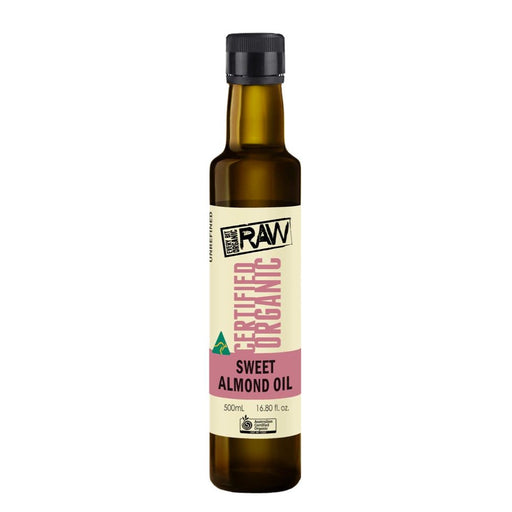 EVERY BIT ORGANIC RAW Sweet Almond Oil 250ml