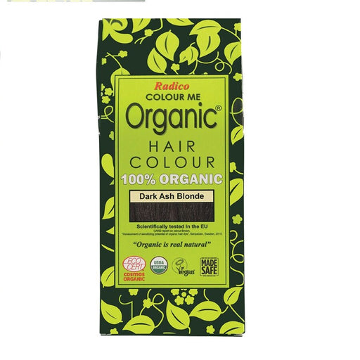 Radico Colour Me Organic - Hair Colour Powder -  Dark Ash Blonde