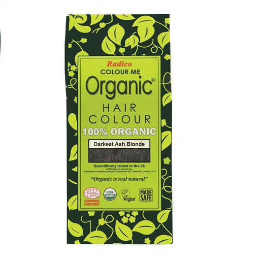 Radico Colour Me Organic - Hair Colour Powder -  Darkest Ash Blonde