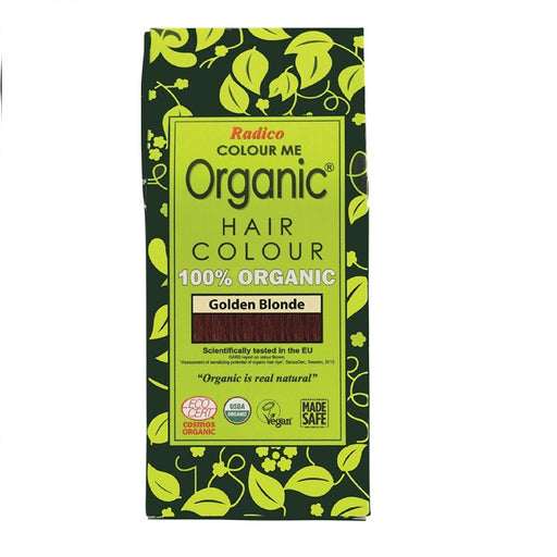 Radico Colour Me Organic - Hair Colour Powder -  Golden Blonde